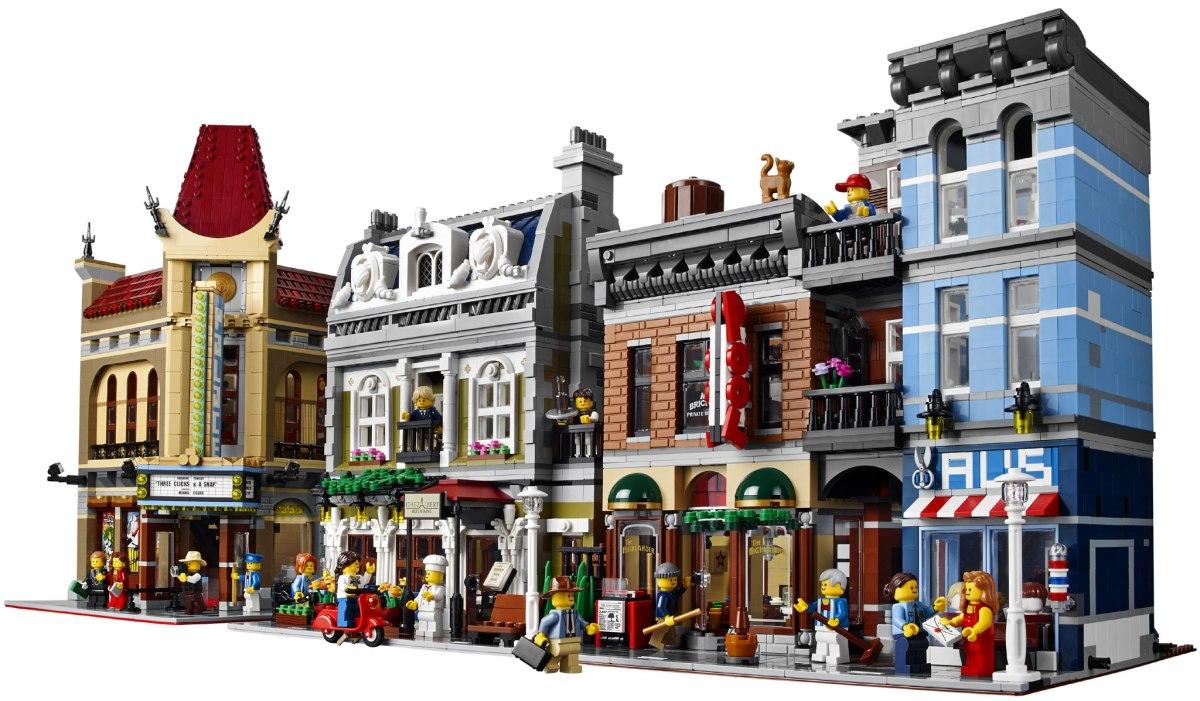 New 2017 lego modular 10255 name leaked ap stream - Modele construction maison lego ...